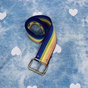 VINTAGE: Rainbow Belt